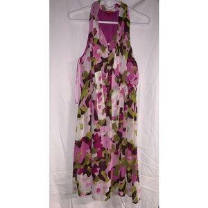 Merona army print dress
